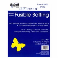 Bosal 4252 Double sided Fusible Batting